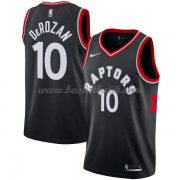 Toronto Raptors Basket Tröja 2018 DeMar DeRozan 10# Statement Edition..