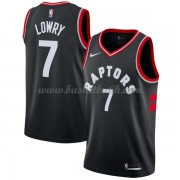Toronto Raptors Basket Tröja 2018 Kyle Lowry 7# Statement Edition..