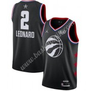 Toronto Raptors 2019 Kawhi Leonard 2# Svart All Star Game NBA Basketlinne Swingman..