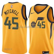 Barn NBA Tröja Utah Jazz 2018 Donovan Mitchell 45# Statement Edition..