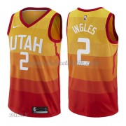 Barn NBA Tröja Utah Jazz 2018 Joe Ingles 2# City Edition..