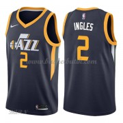 Barn NBA Tröja Utah Jazz 2018 Joe Ingles 2# Icon Edition..