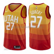Barn NBA Tröja Utah Jazz 2018 Rudy Gobert 27# City Edition..