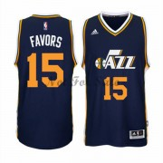 Utah Jazz Basket Tröja Derrick Favors 15# Road..
