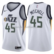 Utah Jazz Basket Tröja 2018 Donovan Mitchell 45# Association Edition..