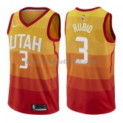 Utah Jazz Basket Tröja 2018 Ricky Rubio 3# City Edition..