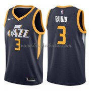 Utah Jazz Basket Tröja 2018 Ricky Rubio 3# Icon Edition..