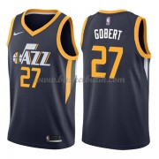 Utah Jazz Basket Tröja 2018 Rudy Gobert 27# Icon Edition..