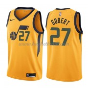 Utah Jazz Basket Tröja 2018 Rudy Gobert 27# Statement Edition..