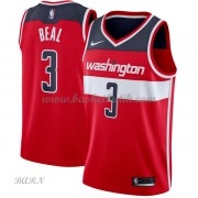Barn NBA Tröja Washington Wizards 2018 Bradley Beal 3# Icon Edition..