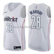 Barn NBA Tröja Washington Wizards 2018 Ian Mahinmi 28# City Edition..