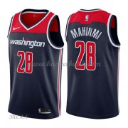 Barn NBA Tröja Washington Wizards 2018 Ian Mahinmi 28# Statement Edition..