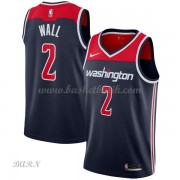 Barn NBA Tröja Washington Wizards 2018 John Wall 2# Statement Edition..