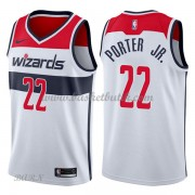 Barn NBA Tröja Washington Wizards 2018 Otto Porter Jr. 22# Association Edition..
