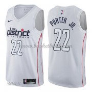 Barn NBA Tröja Washington Wizards 2018 Otto Porter Jr. 22# City Edition..