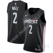 Barn NBA Tröja Washington Wizards 2019-20 John Wall 2# Svart City Edition Swingman..
