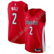 Barn NBA Tröja Washington Wizards 2019-20 John Wall 2# Röd Earned Edition Swingman..