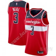 Barn NBA Tröja Washington Wizards 2019-20 Bradley Beal 3# Röd Icon Edition Swingman..