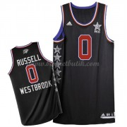 West All Star Game 2015 Russell Westbrook 0# NBA Basketlinne