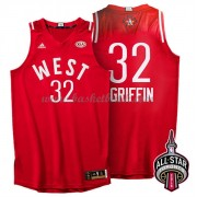 West All Star Game 2016 Blake Griffin 32# NBA Basketlinne..