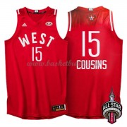 West All Star Game 2016 Demarcus Cousins 15# NBA Basketlinne..