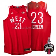 West All Star Game 2016 Draymond Green 23# NBA Basketlinne..