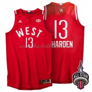 West All Star Game 2016 James Harden 13# NBA Basketlinne..