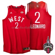 West All Star Game 2016 Kawhi Leonard 2# NBA Basketlinne..