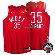 West All Star Game 2016 Kevin Durant 35# NBA Basketlinne..
