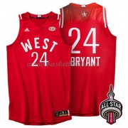 West All Star Game 2016 Kobe Bryant 24# NBA Basketlinne..