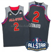 West All Star Game 2017 Kawhi Leonard 2# NBA Basketlinne..
