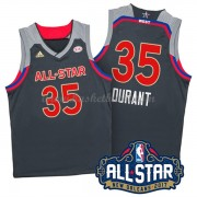 West All Star Game 2017 Kevin Durant 35# NBA Basketlinne..