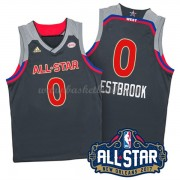 West All Star Game 2017 Russell Westbrook 0# NBA Basketlinne..