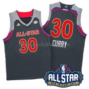 West All Star Game 2017 Stephen Curry 30# NBA Basketlinne..