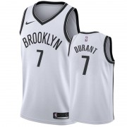 Barn NBA Tröja Brooklyn Nets 2019-20 Kevin Durant 7# Vit Association Edition Swingman..