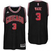 Chicago Bulls Basket Tröja Dwyane Wade 3# Alternate