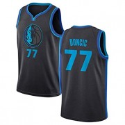 Barn NBA Tröja Dallas Mavericks 2019-20 Luka Doncic 77# City Edition Swingman..