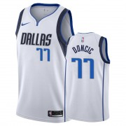 Barn NBA Tröja Dallas Mavericks 2019-20 Luka Doncic 77# Vit Association Edition Swingman..