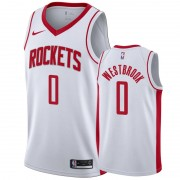 Houston Rockets Basket Tröja 2019-20 Russell Westbrook 0# Vit Association Edition Swingman..