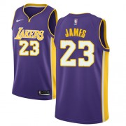 Los Angeles Lakers Basket Tröja 2018 LeBron James 23# Statement Edition..