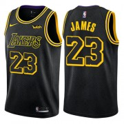 Los Angeles Lakers Basket Tröja 2018 LeBron James 23# City Edition..