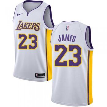 Los Angeles Lakers Basket Tröja 2018 LeBron James 23# Association Edition