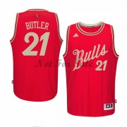 Chicago Bulls Basketkläder Jimmy Butler 21# NBA Jultröja..