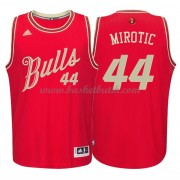 Chicago Bulls Basketkläder 2015 Nikola Mirotic 44# NBA Jultröja..
