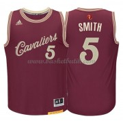 Cleveland Cavaliers Basketkläder 2015 J.R. Smith 5# NBA Jultröja..