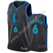 Barn NBA Tröja Dallas Mavericks 2019-20 Kristaps Porzingis 6# City Edition Swingman..