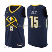 Barn NBA Tröja Denver Nuggets 2018 Nikola Jokic 15# City Edition..