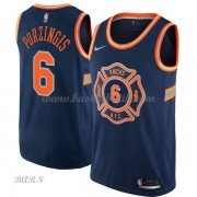 Barn NBA Tröja New York Knicks 2018 Kristaps Porzingis 6# City Edition..