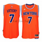 New York Knicks Basket Linne Carmelo Anthony 7# Alternate..