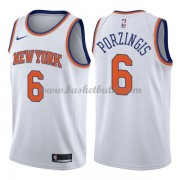 New York Knicks Basket Tröja 2018 Kristaps Porzingis 6# Association Edition..